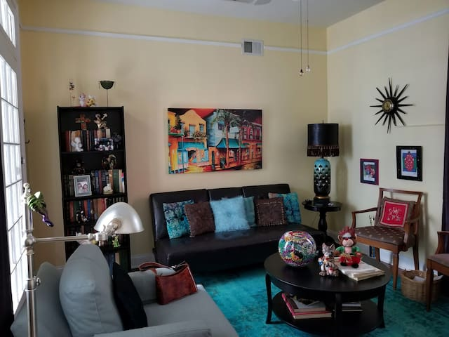 Marigny's Magical Garden Suite, in the Triangle!
