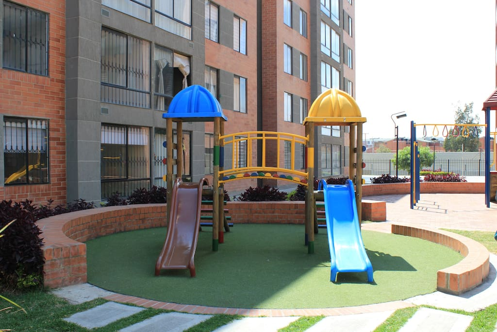 Play area for children.