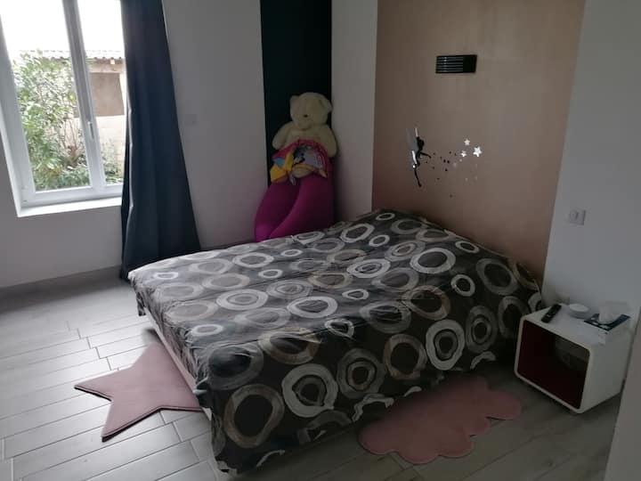 Chambre avec salle d'eau privative, 7min Lunéville