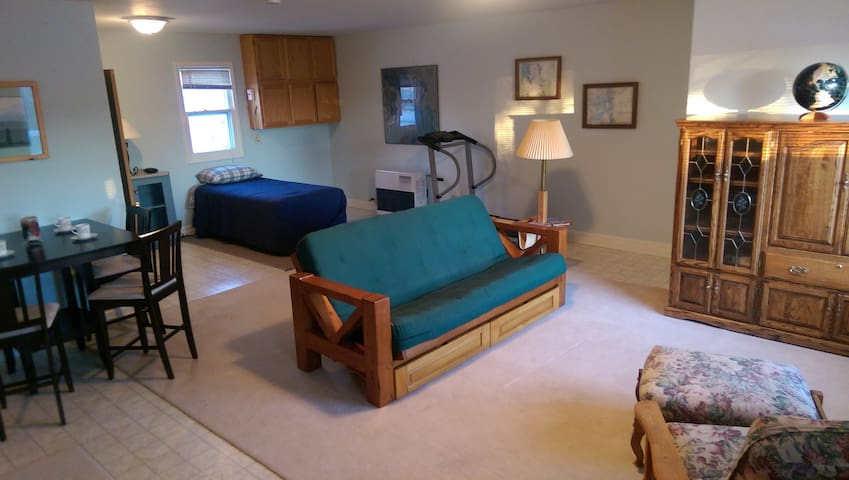Spacious private room/bath with separate entrance