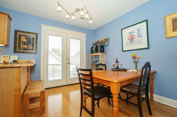 Super Southside Apt just off Main St sleeps 6 - Chattanooga - Apartamento