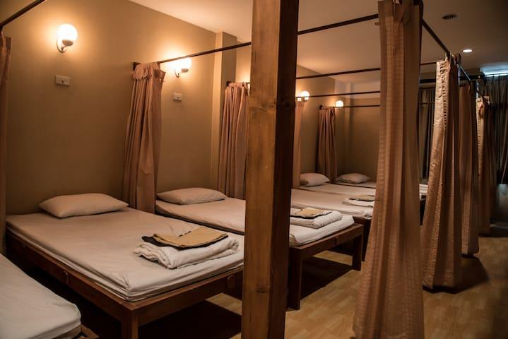 Massage area in spa zone