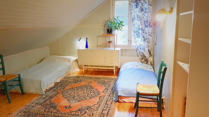 Lovely Room in traditional finnish home.
