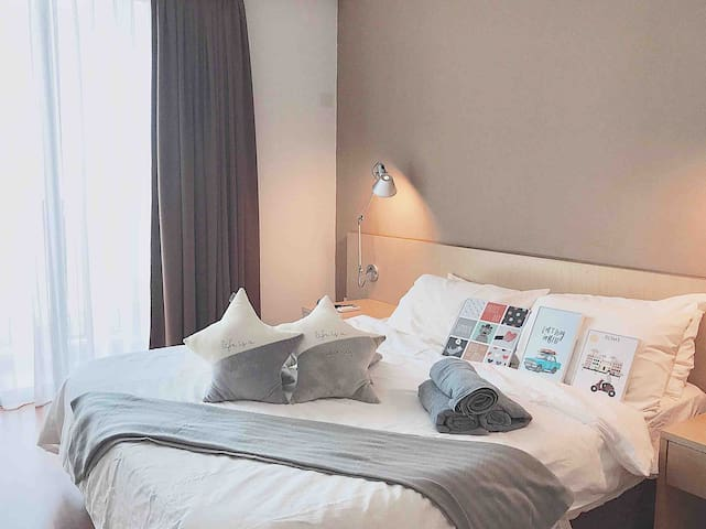 [ HOT ]Cozy entire place in KL 1-6Pax