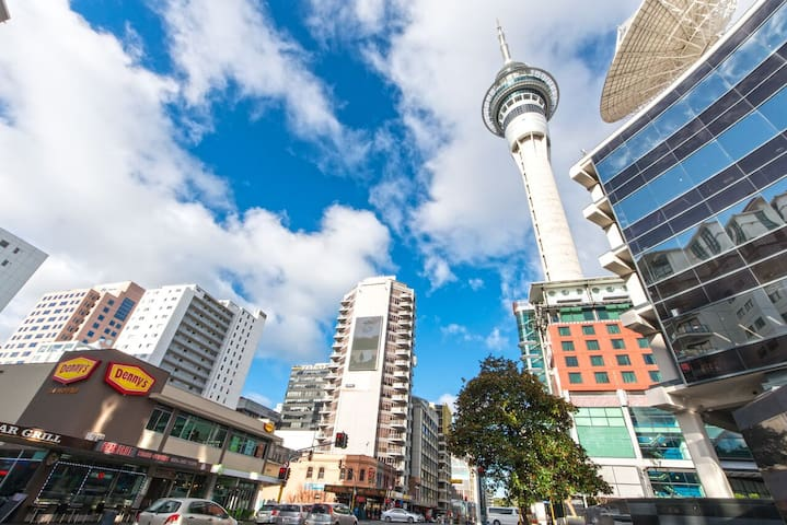 1 Brm Auckland CBD Apartment Ensuite BED&BREAKFAST - Auckland