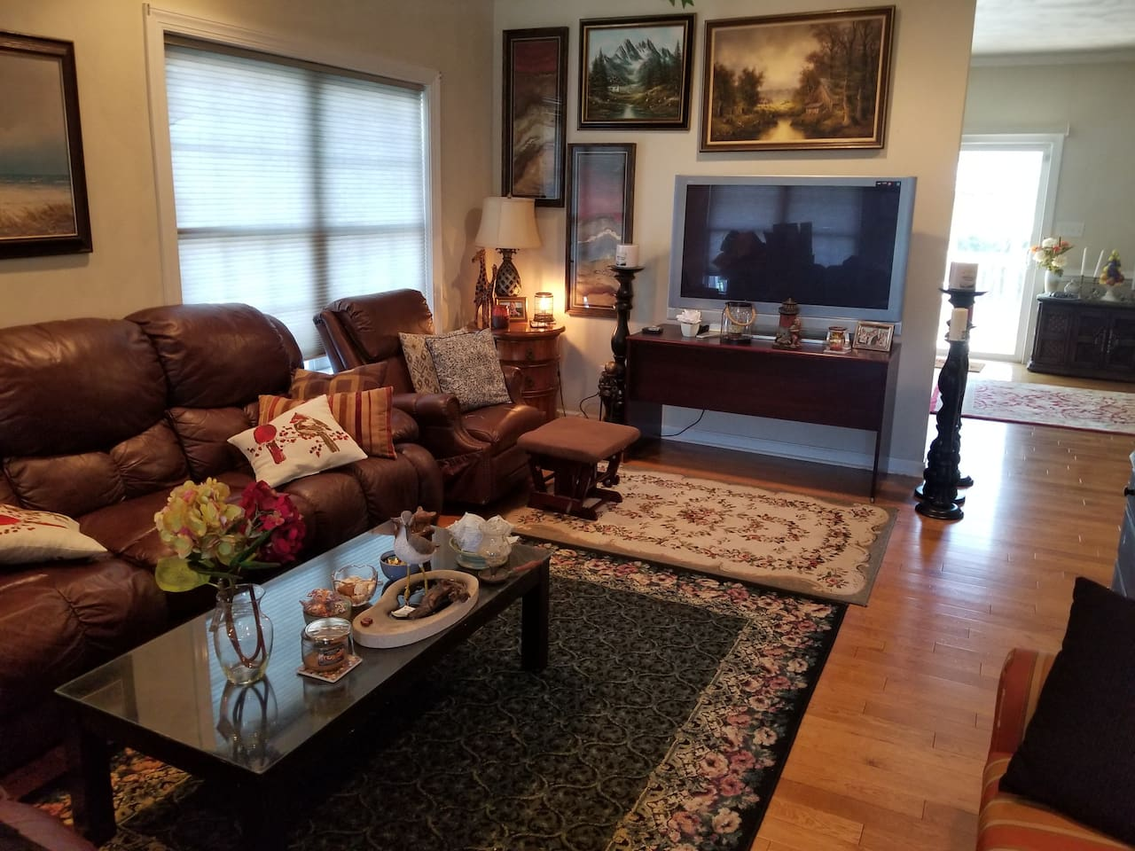 Comfy living space shared