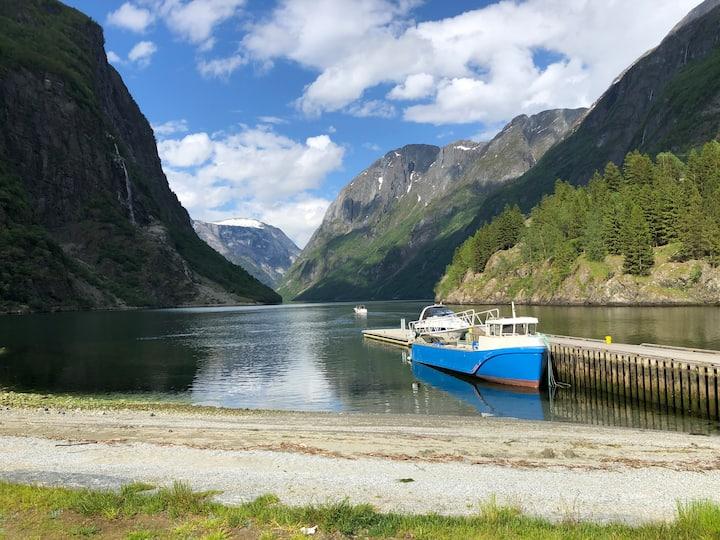 Gudvangen, by the Nærøyfjord