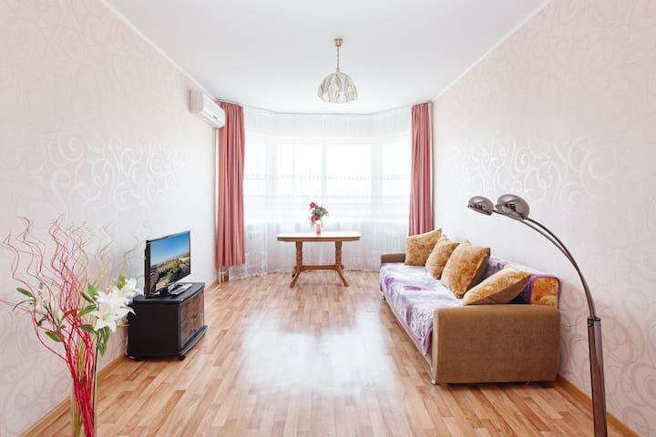 Квартира с шикарным видом на Амур! - Khabarovsk - Apartment
