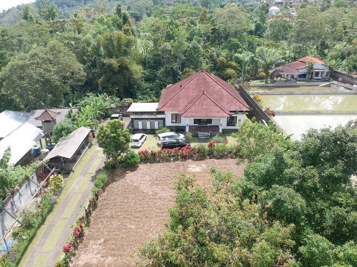 NEW! 3 BR Villa with spacious garden in Baturiti