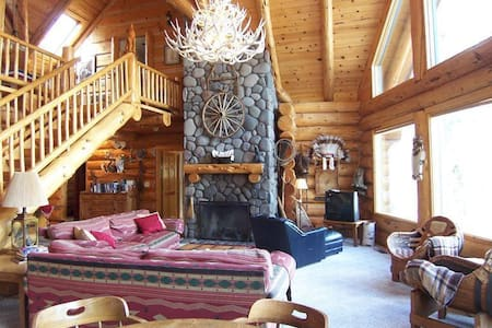 Authentic Log Cabin Close to Glaze Meadow Pool - Sisters - Cabanya