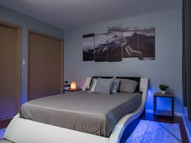 Get a good nights sleep on a Memory Foam Queen Size Mattress.