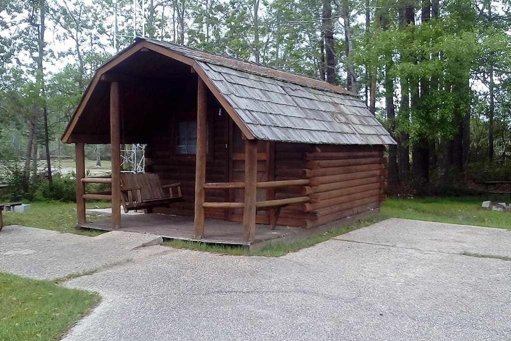 Log Cabin 2 Cabins For Rent In Ocean Springs