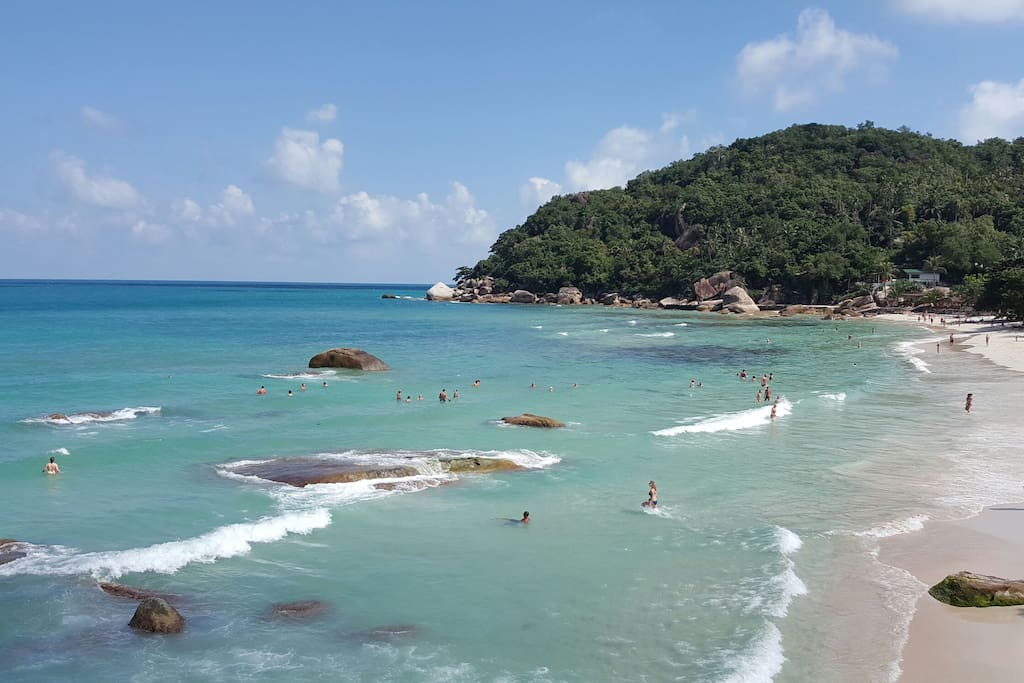 10-15 minutes from Chaweng Noi & Crystal Bay