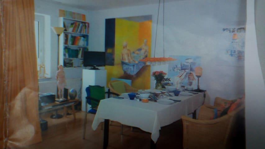 Künstlerwohnung - Bremen - Apartment