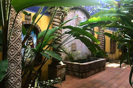 Huge 1br home gated garden on the river Mtn Views - Puerto Vallarta - Hus