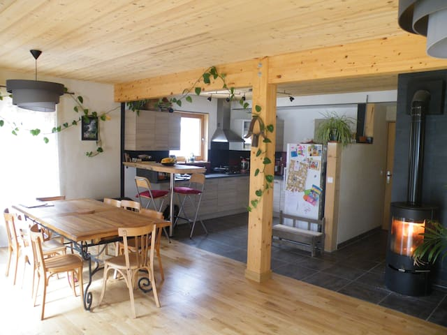 maison en bois à la montagne - Méaudre - Casa