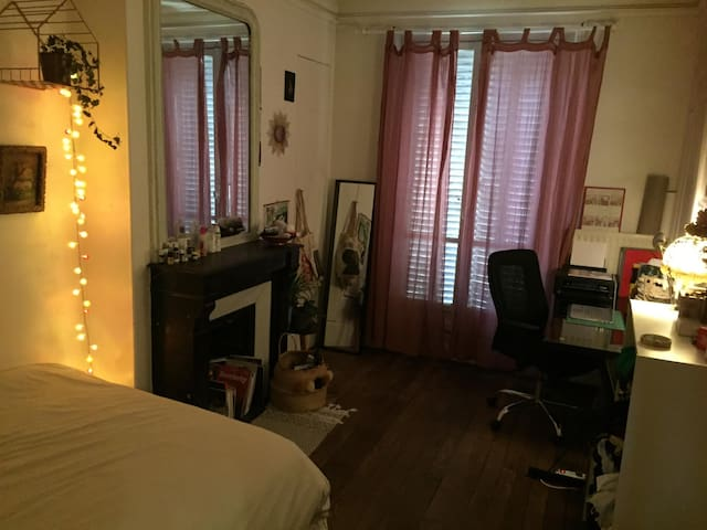 Chambre privée au pied de Montmartre