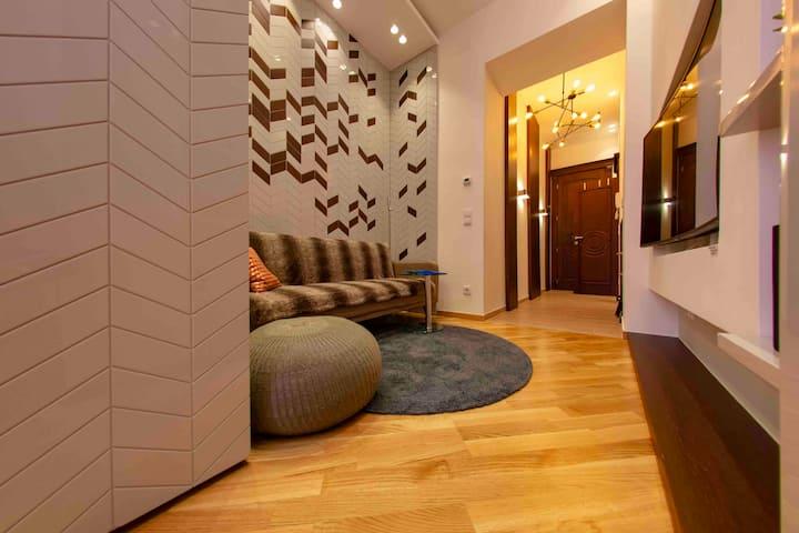 Stylish and innovative design Apartment