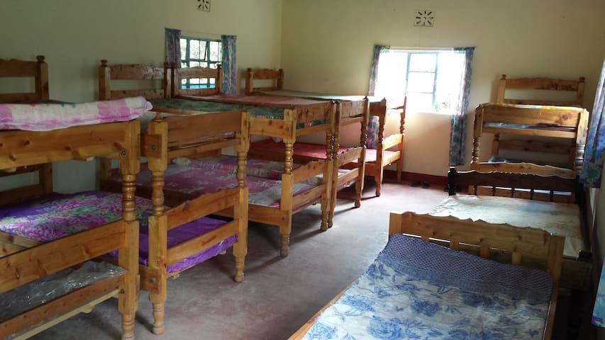 Naro-moru safari camp bunk houses