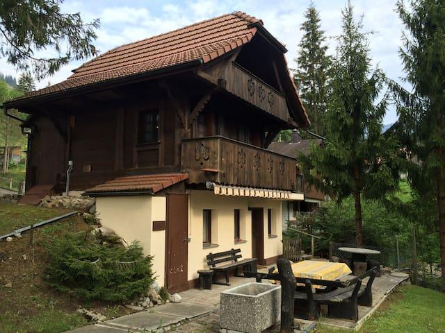 Luzerner Spycher - Finsterwald, Entlebuch - Srub