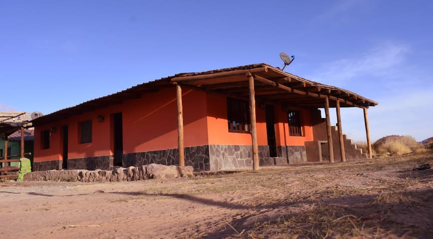 Paraje San Roque, cabañas andinas