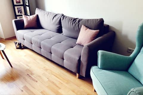Zentrale frisch renovierte Wohnung