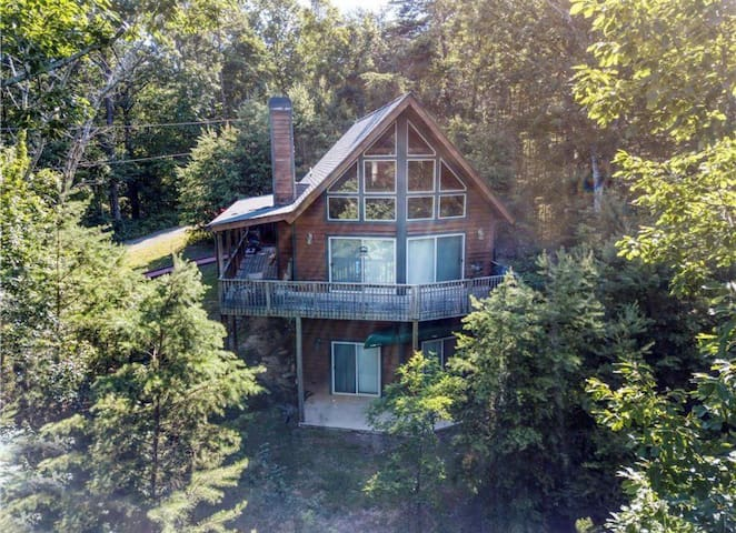 Private Mountain Home in North GA Gated Community!