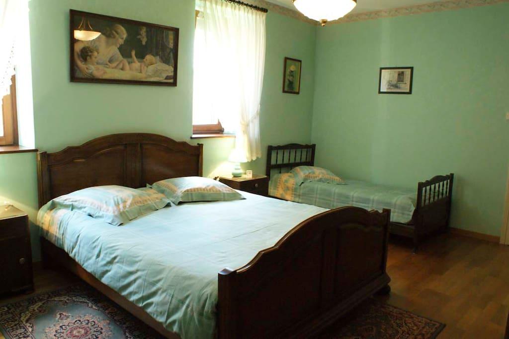 Chambre 1 de l'appartement du 1er étage