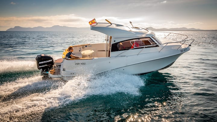Boat rental charter Alcudia Pollenca trip & sports