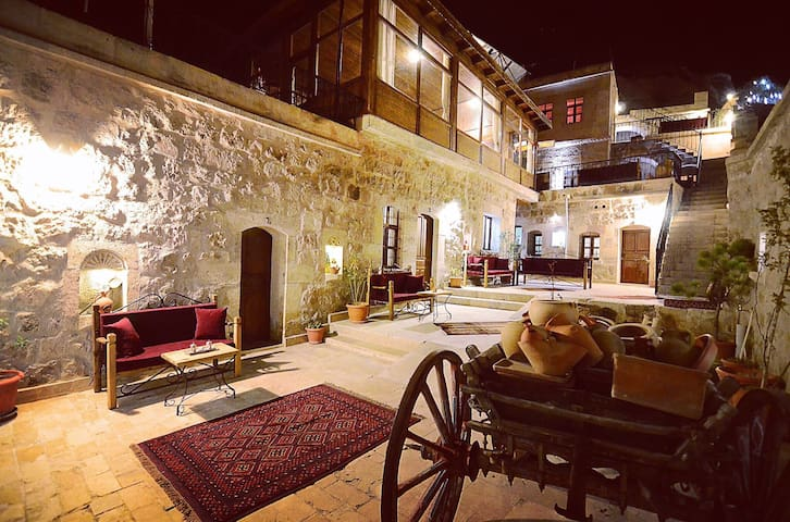 Gedik Cave Hotel Double Or Twin Rooms - Göreme - Penzion (B&B)