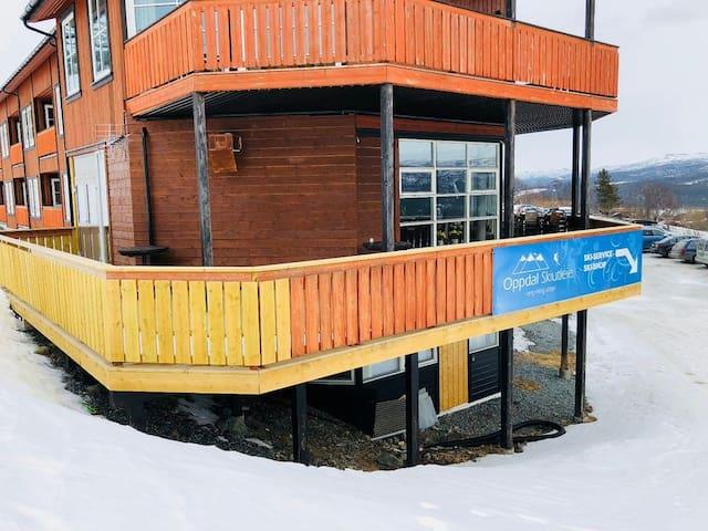 Flott, ny og stor leilighet i Stølen ski in/out