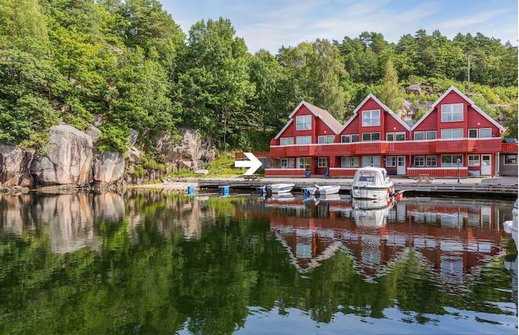 Trysnes Brygge - Nydelig leilighet i sjøkanten