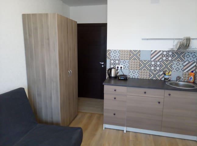Уютная студия 17 м2 в 3 мин от м Девяткино - Murino - Appartement