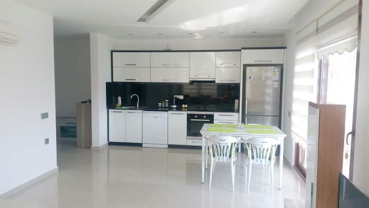 Nice New Flat With Seaview in Alanya Kestel