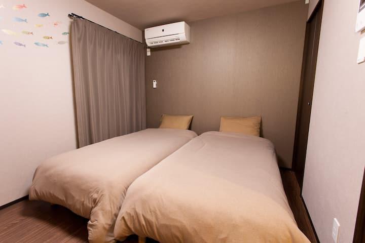 Kyostay Iroha Toji Annex - Standard Twin Room B