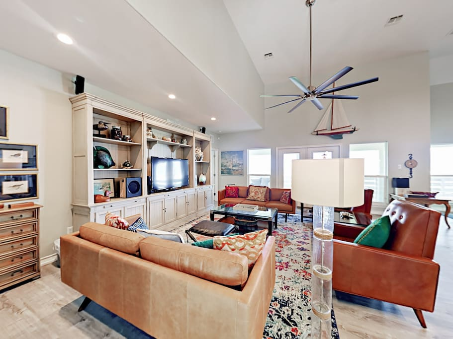 Welcome to Port Aransas! Your beach getaway is professionally managed by TurnKey Vacation Rentals.