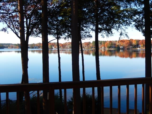 4Br Lakefront/Ski Home in Otis
