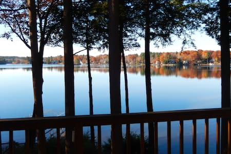 4Br Lakefront/Ski Home in Otis - Otis - Ev