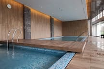 Indoor Pool + Jacuzzi