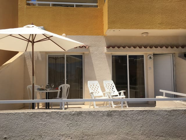 Nice holiday apartment close to beach
