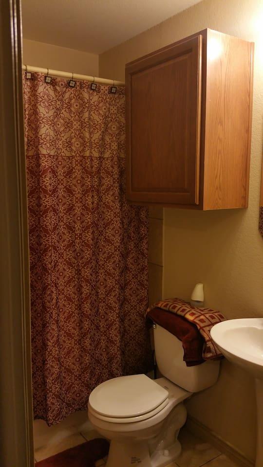 Dedicated - Guest Bathroom