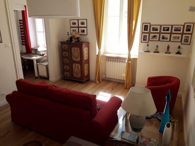 la camera riservata agli ospiti