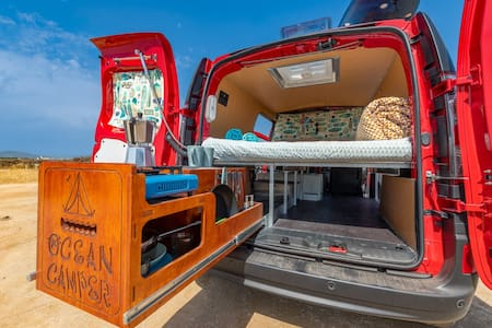 Campervan - Cosy OceanCamper® for a dream roadtrip