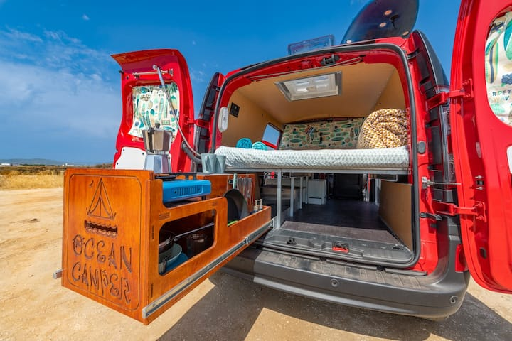 Campervan - Cosy OceanCamper® for a dream roadtrip
