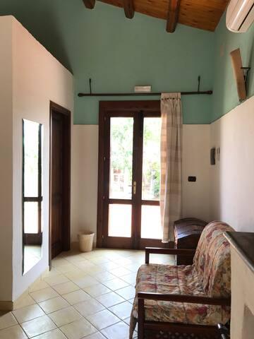 triple room with veranda