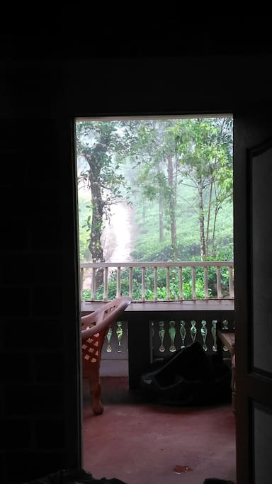 View from within the room