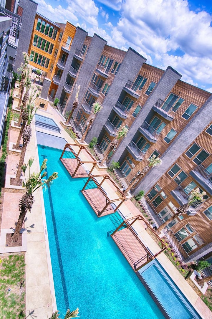 HarlowStays |  1BR Private Entry @ LOOKOUT| DALLAS