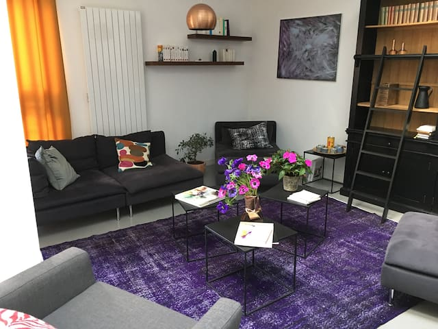 Appartement indépendant dans beau loft + garage - Chartres - Apartamento