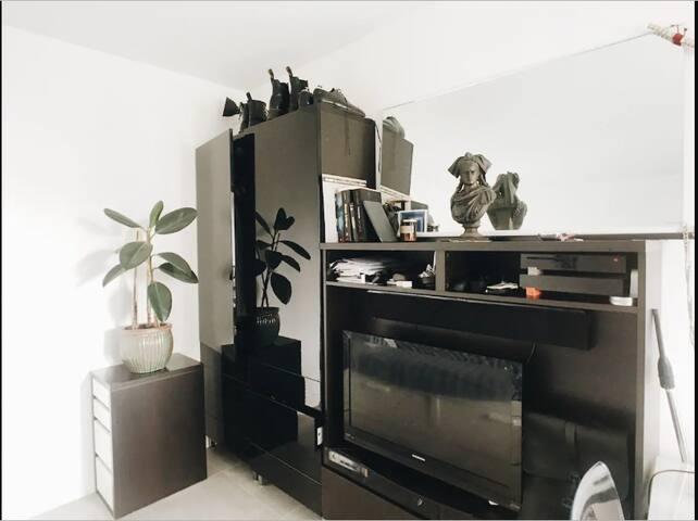 Studio cosy et bien placé