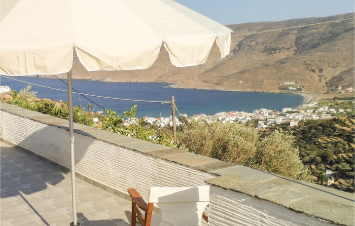 Amazing home in Korthi with WiFi and 2 Bedrooms